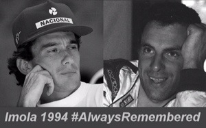 Ayrton and Roland #AlwaysRemembered